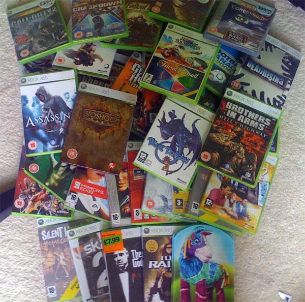 Games I own